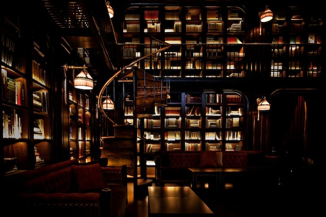The%20NoMad%20Library%20 NoMad Hotel in New York in THISISPAPER MAGAZINE