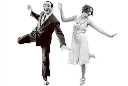Why swing dance lindy hop revolution for Claquette jean dujardin