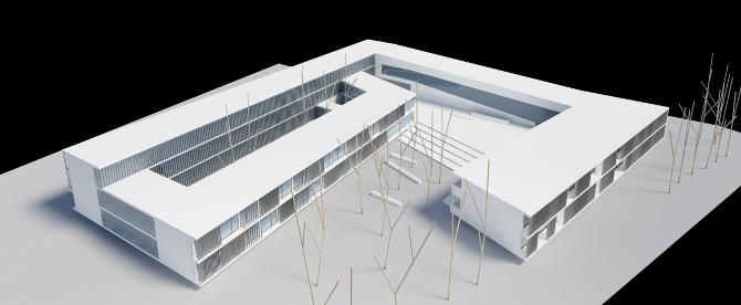 Residencia para estudiantes xd infografia for Residencia para estudiantes